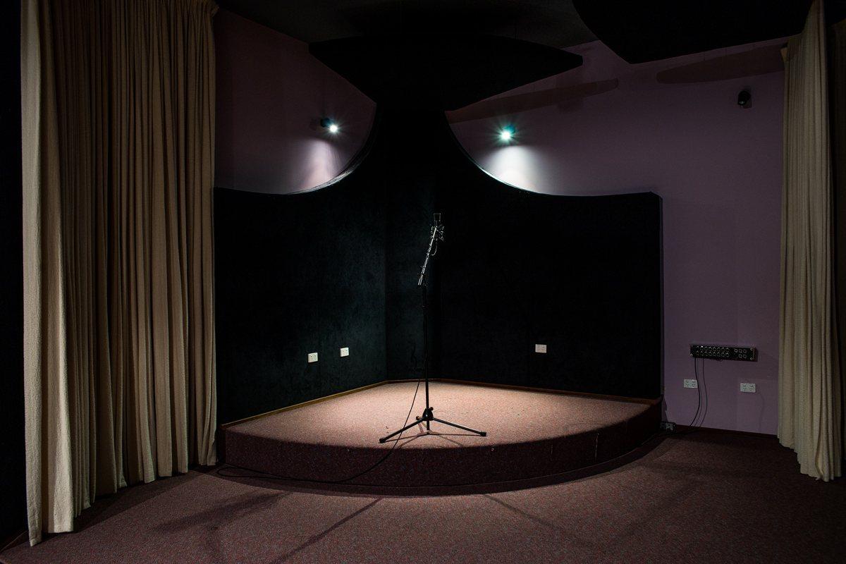 Recording Room Mood Shot