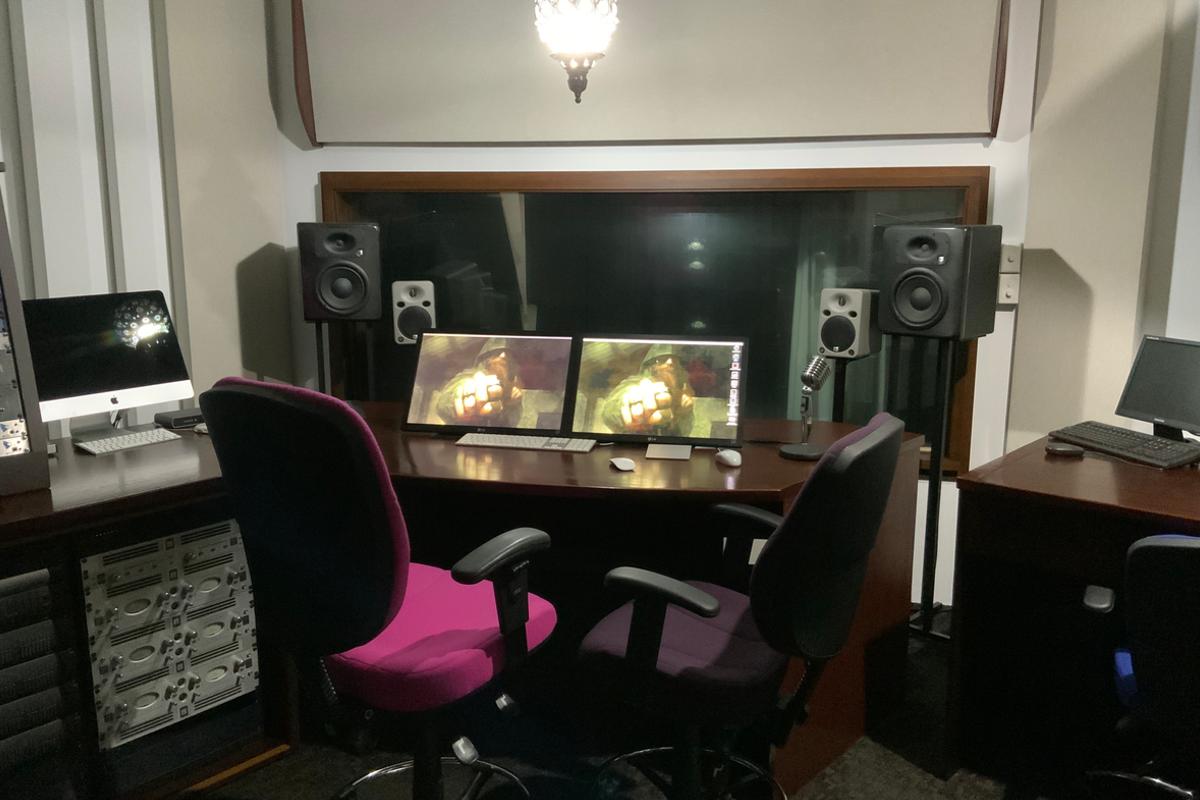 Control Room Billie Reid