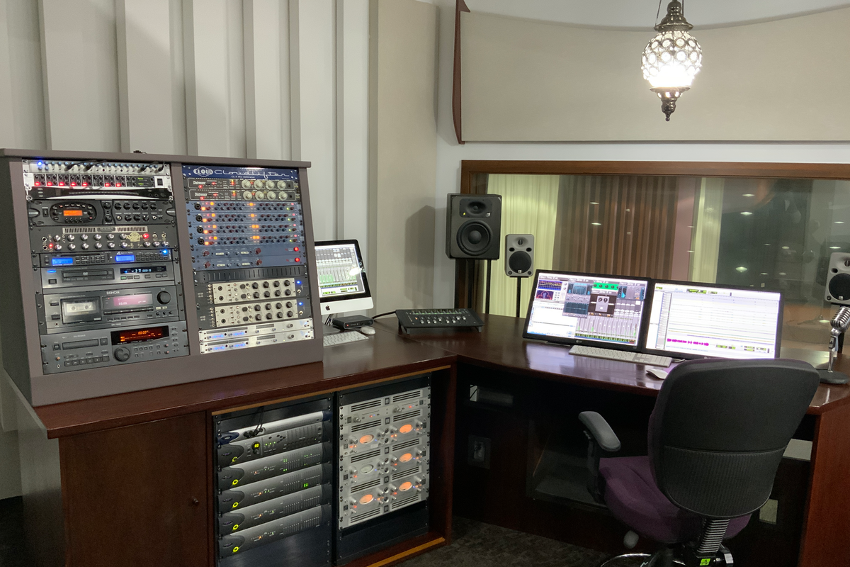Control Room Front On Equipment Shot